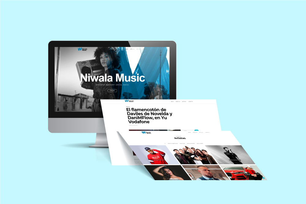 Web Empresa Niwala Music
