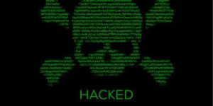 Página Web hackeada